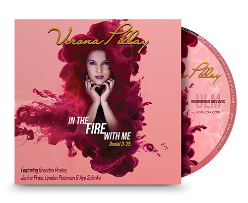 In The Fire With Me CD Cover